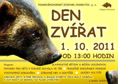 FOTKA - Den zvířat v Podkrušnohorském zooparku s rosničkou Míšou Dolinovou