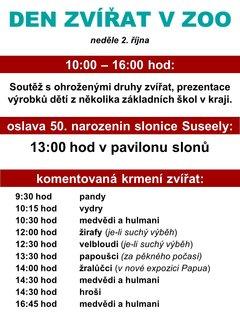 FOTKA - ZOO Ostrava oslaví Den zvířat společně s narozeninami sloní babičky