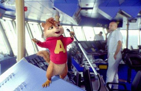 FOTKA - Alvin a Chipmunkové 3 - i o letošních Vánocích to pořádně rozpiští
