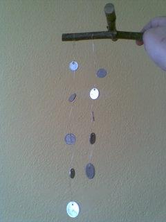 FOTKA - Vyrob si sama – Zvonkohru z mincí