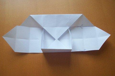 FOTKA - Vyrob si sama  - Krabička z papíru