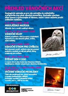 FOTKA - Advent a Vánoce v ZOO Olomouc