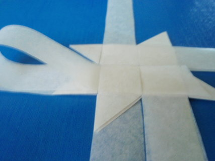 FOTKA - Vyrob si sama: Papírová hvězda