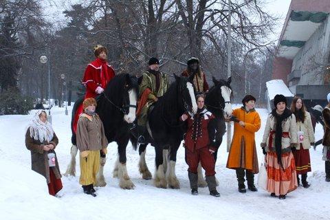 FOTKA - V pátek vyjedou ze zooparku Tři králové s družinou