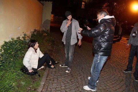 FOTKA - Jak se točilo přepadení Báry v seriálu Cesty domů