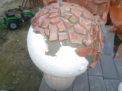 FOTKA - Vyrob si sama - Mozaikové koule