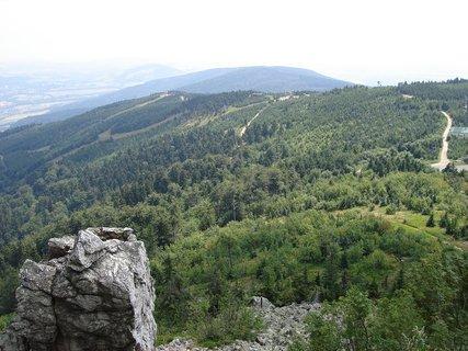 FOTKA - Výlet na Ještěd - lanovka zvítězila