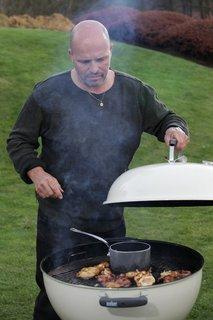 FOTKA - Šéf na grilu II - Hamburger z lososa