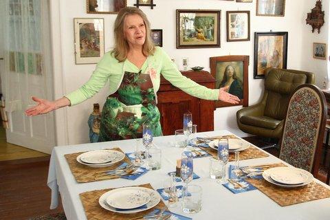 FOTKA - VIP Prostřeno 20.8. 2012 - Eva Pilarová