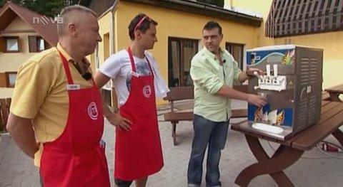 FOTKA - Martin Korbelič zabránil v pořadu Masterchef kuchařské katastrofě