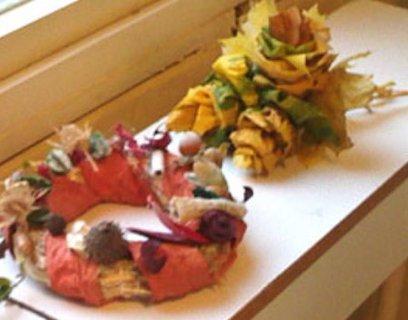 FOTKA - Vyrob si sama: Podzimní věnce a dekorace