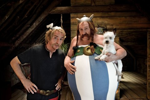 FOTKA - Nový 3D film v našich kinech: Asterix a Obelix ve službách Jejího Veličenstva