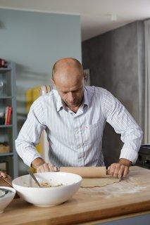 FOTKA - Když vaří táta 4.11. 2012 - Iveta slaví narozeniny