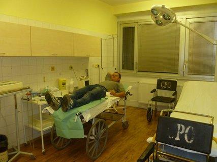 FOTKA - Matej Červenka z pořadu Masterchef skončil v nemocnici
