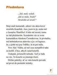 FOTKA - Lenka Rožnovská - Strašidýlko z aktovky
