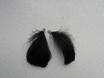 FOTKA - Vyrob si sama: Peříčkové náušnice