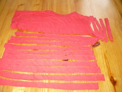 FOTKA - Vyrob si sama: Náhrdelník (šálku ) a náramek z bavlněného trička