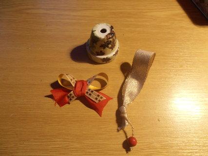FOTKA - Vyrob si sama: Vánoční zvoneček