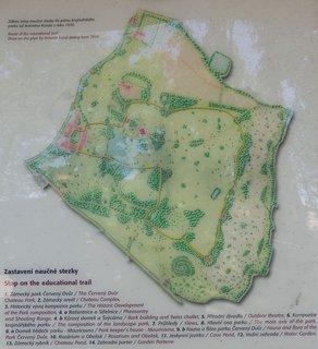 FOTKA - Červený Dvůr - zajímavý park pod Kletí