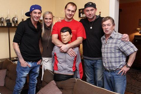 FOTKA - VIP Prostřeno 20.11. 2012 - Roman Skamene