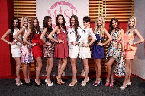 FOTKA - Česká Miss 2013 - finalistka č. 1 - Markéta Břízová