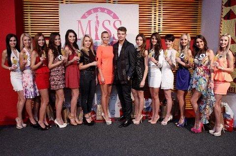 FOTKA - Česká Miss 2013 - finalistka č. 9 - Zuzana Juračková