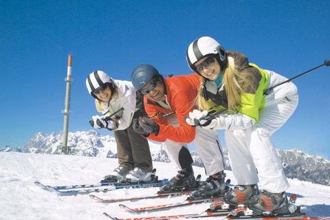 FOTKA - Praktické tipy, jak se nezranit během lyžování
