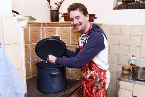 FOTKA - VIP Prostřeno 28.2. 2013 - Petr Jablonský