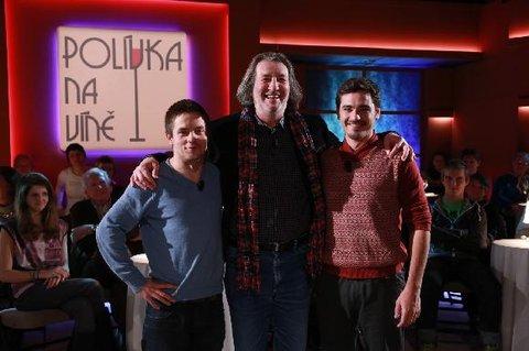 FOTKA - Polívka na víně 2.3. 2013 - Muži na scéně