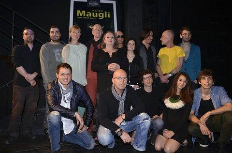 FOTKA - Nový muzikál MAUGLÍ v Divadle Kalich