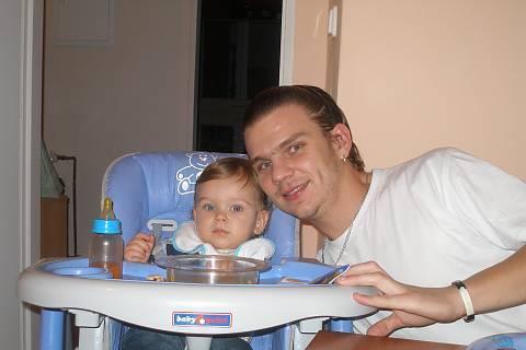 FOTKA - Péťa s tátou
