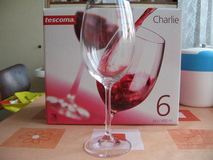 FOTKA - sklenice na víno