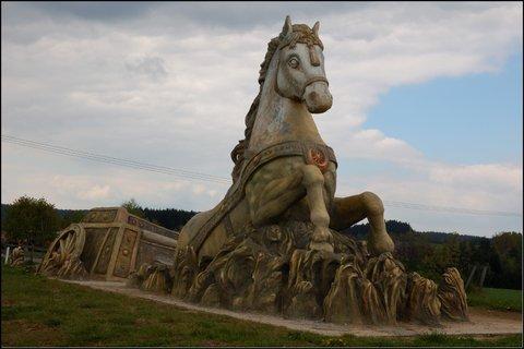 FOTKA - Kůň v Hamrech nad Sázavou
