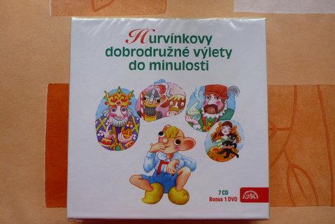 FOTKA - sada 7 cd s Hurvínkem