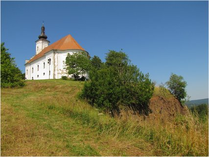FOTKA - Kostel na Uhlířském vrchu alias bývalé sopce