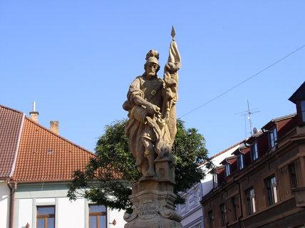 FOTKA - Starobylá socha na pěší zóně