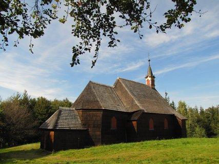 FOTKA - Dřevěný kostel na Prašivé