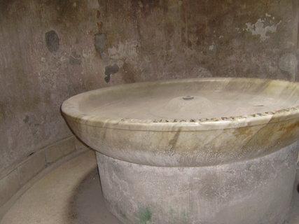 FOTKA - Pompeje, lázně