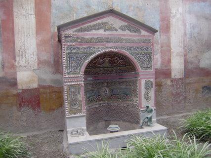FOTKA - Pompeje, studna