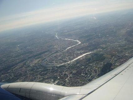 FOTKA - Praha z letadla 3