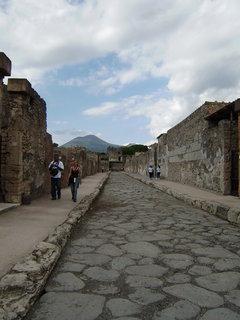 FOTKA - Ulice v Pompejích