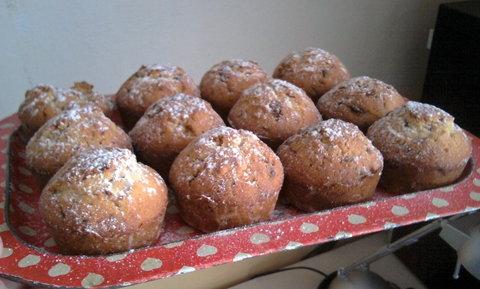 FOTKA - Muffiny s kousky čokolády