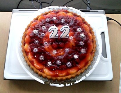 FOTKA - Ovocný dortík 3