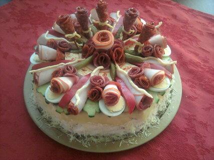FOTKA - Slaný dort