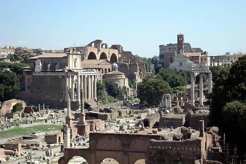 FOTKA - Pohled na Forum Romanum