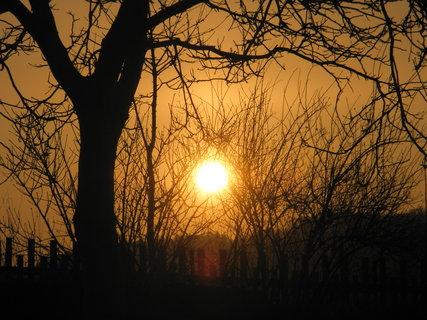 FOTKA - ranní sluníčko včerejší