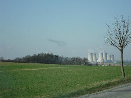 FOTKA - Pohled na atomku z dálky