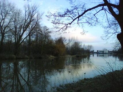FOTKA - podvečer u řeky