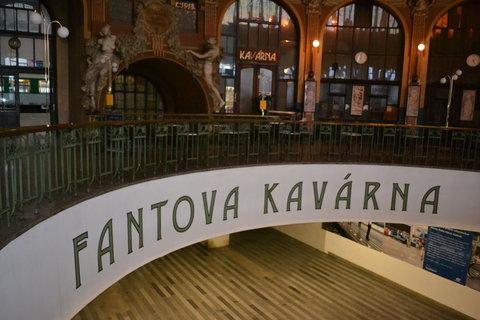 FOTKA - Kavárna v Praze