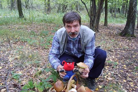 FOTKA - na houbách